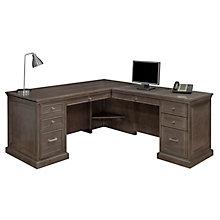 Statesman Executive L-Shaped Desk with Right Return, OFG-LD1215