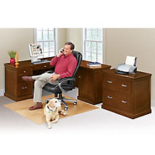 Compact L-Desk with Right Return and Lateral File, 8804120
