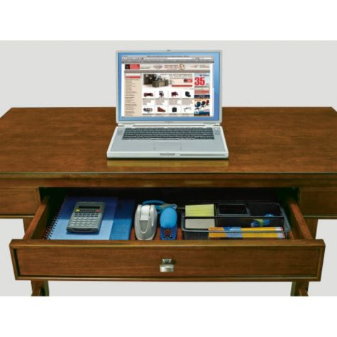 Utility drawer can be used to store office supplie