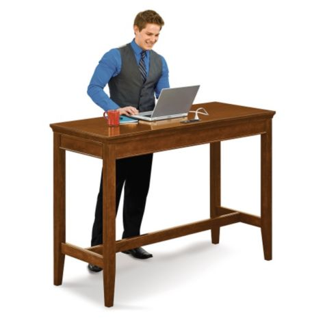 "Desks measures 42"" high"