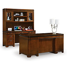 Kensington Desk Credenza and Hutch Set, 8801995
