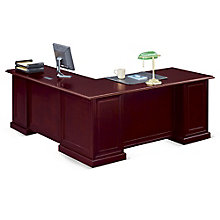 "Cumberland L-Desk - 72""W - Left or Right Return, 8826835"