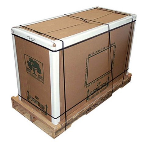 Packaging includes double layered with heavy duty