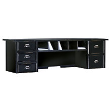 "Tribeca Loft Black Reception Hutch - 48"", MRT-TL478"