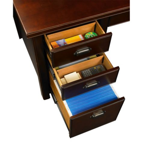 Drawers provide extra storage