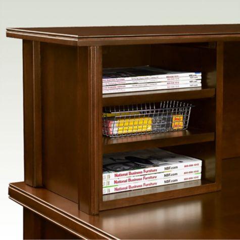 3-shelf organizer provides under-counter storage