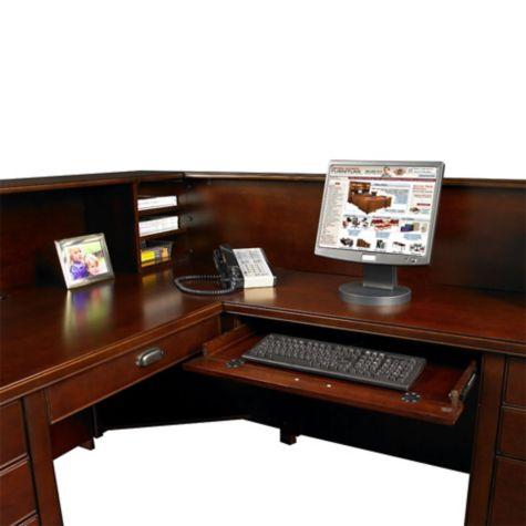 L-Desk provides ample workspace