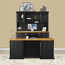 Kathy Ireland Southampton Onyx Complete Desk Group, 8823093