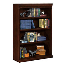 "Huntington Club Four Shelf Bookcase - 48""H, MRN-HCR3648"