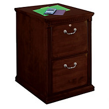 "Huntington Cherry Two Drawer Vertical File - 21"" W, MRT-HCR201"
