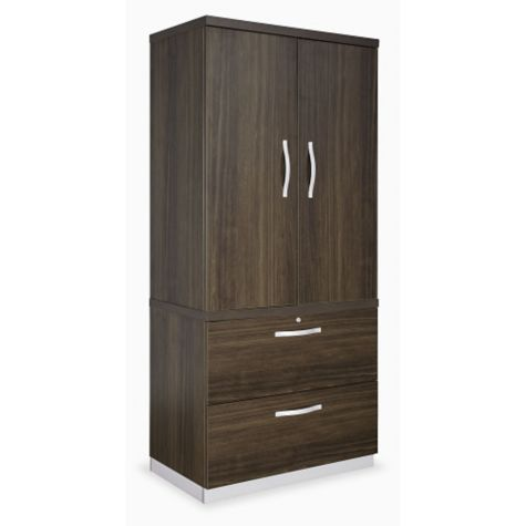 Wardrobe with File