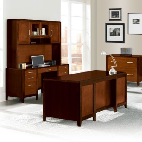 Shown in a complete executive office set.