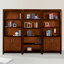 Lancaster Full Wall Bookcase Set, 8801883