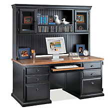 Southampton Onyx Desk with Hutch, OFG-DH1093
