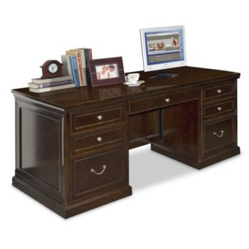 Fulton Double Pedestal Executive Desk 68 Quot W