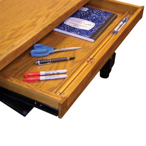 Keyboard drawer/pencil tray