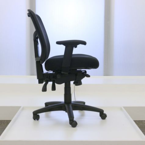 Adjustable seat depth shown back