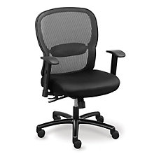 Big and Tall Memory Foam Computer Chair in Mesh, OFF-10541