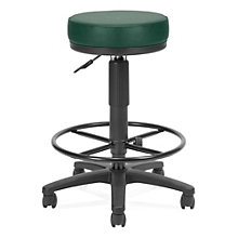 Vinyl Backless Drafting Stool, OFM-902-VAM-DK