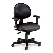 Vinyl 24-Hour Ergonomic Task Chair, OFM-241-VAM-AA