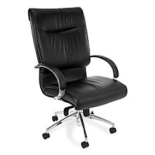 Sharp High Back Executive Leather Chair, 8810586