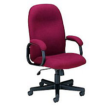 Fabric Executive Chair with Padded Arms, OFM-670