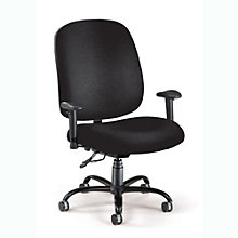 Big and Tall Fabric Ergonomic Computer Chair, OFM-700-AA6S