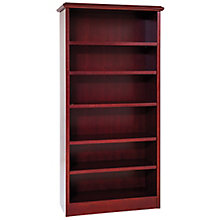 "36""W x 72""H Wood Veneer Bookcase, 8826049"