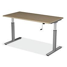 "SitStand Adjustable Height Desk - 48""W x 30""D, 8822601"