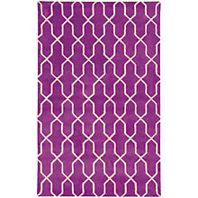 Optic Geometric Area Rug 8'W x 10'D, 8825384