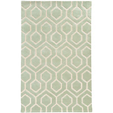 Optic Geometric Area Rug 8'W x 10'D, 8825392