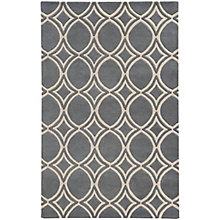 Optic Geometric Area Rug 5'W x 8'D, 8825385