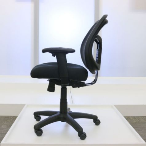 Shown with Adjustable Seat Height Raised