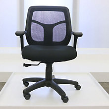 Mid-Back Mesh and Fabric Ergonomic Computer Chair, 8804710