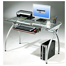 Glass Computer Desk, RTP-397B