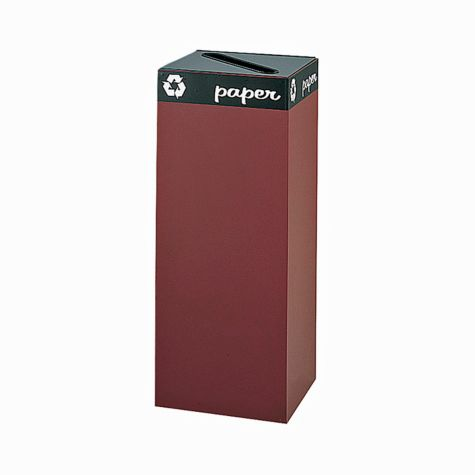 "38"" Burgundy Receptacle Shown"