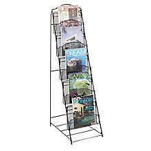 Five Pocket Mesh Magazine Rack, 8828214