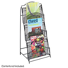 Three Pocket Mesh Magazine Rack, 8828219