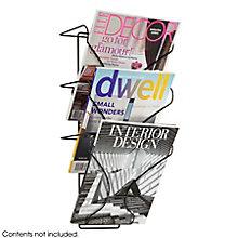 Three Pocket Wall-Mounted Magazine Rack, 8828228