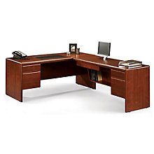 "Cornerstone L-Desk with Reversible Return - 70""W, 8826605"
