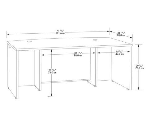 Desk shell specs