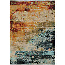 "Sedona Space-Dyed Abstract Rug 7'10""W x 10'10""D, 8825454"