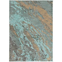 "Sedona Saturated Abstract Rug 5'3""W x 7'6""D, 8825455"