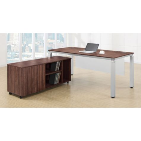 Credenza fits under desk top