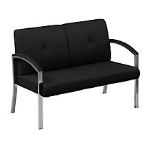 Guest Loveseat with Chrome Legs, 8801828