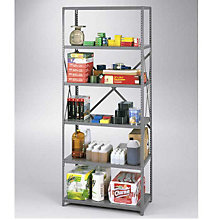 "Steel Shelving Unit - 36""W x 12""D, OFG-SS1001"