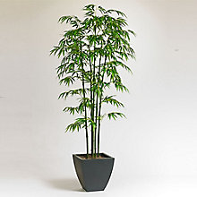6'H Artificial Potted Bamboo Tree, 8813524