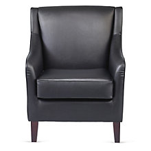 Club Chair in Faux Leather, 8802553