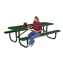Thermoplastic Coated Picnic Table - 8'W, ULT-238-V8