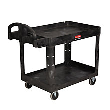 Heavy-Duty Two Shelf Utility Cart, UNE-RCP452088